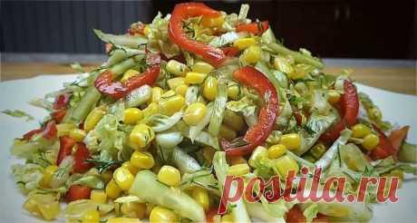 Здравствуйте, дорогие друзья! Сегодня предоставляю вашему вниманию легкие, быстрые и очень вкусные салаты из пекинской капусты. Такие блюда можно готовить