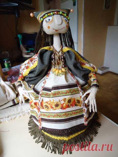 Изготовление куклы на чайник (мастер-класс).