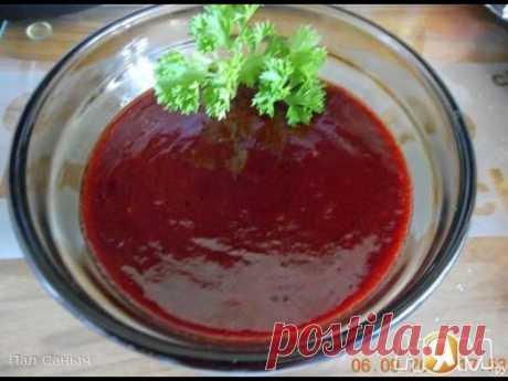 Малиновый соус к мясу  Французская кухня