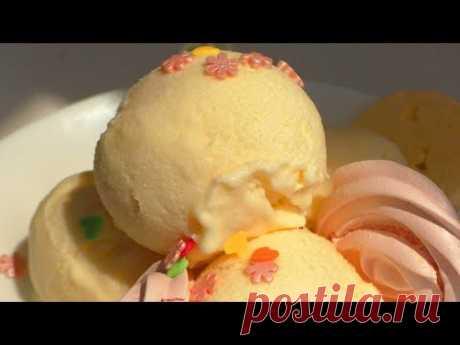 МОРОЖЕНОЕ ИЗ ДЫНИ. Melon ice cream.