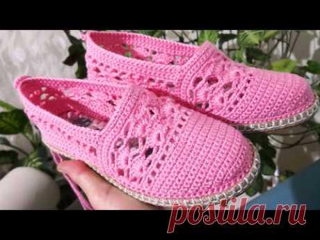 Örgü ayakkabı modeli, Badem modeli babet örgü ayakkabı model