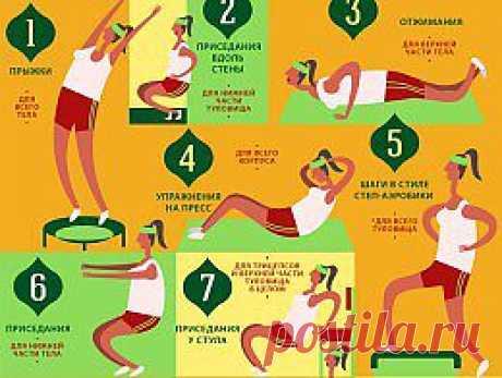 Гимнастика для женщин: 12 экспресс-упражнений - Красота - Здоровье - Аргументы и Факты