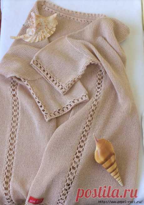 Боковой шов - как красиво связать ажурную дорожку крючком!