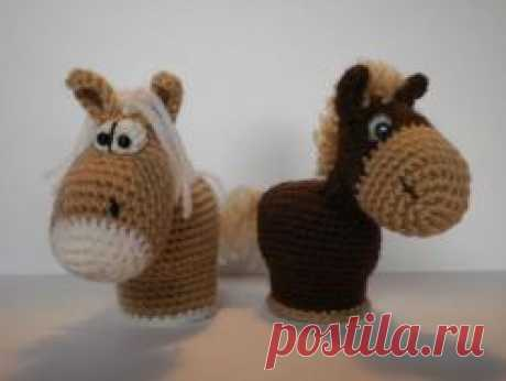 Лошадки-символ 2014года - МК по вязанию игрушек - Форум почитателей амигуруми (вязаной игрушки)