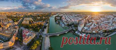 Севилья, Испания - виртуальный тур; Seville, Spain   360° Aerial Panoramas, 3D Virtual Tours Around the World, Photos of the Most Interesting Places on the Earth