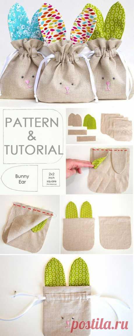 Текстильно! 30 идей для упаковки из ткани - Ярмарка Мастеров - ручная работа, handmade