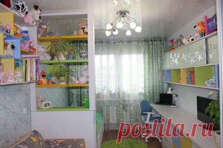Детская: комната будущей школьницы