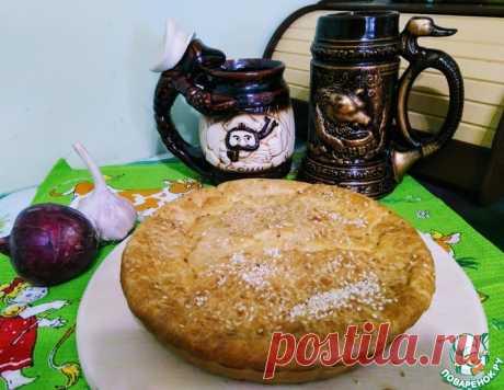 Пирог заливной с квашеной капустой – кулинарный рецепт