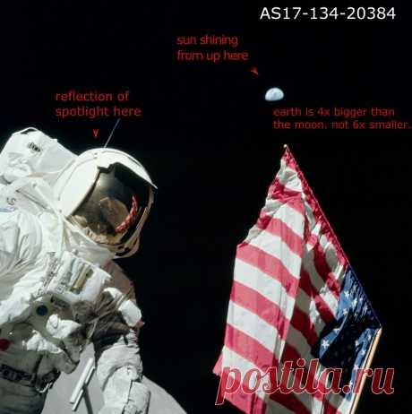 Так американцев все же не было на Луне: появились новые доказательства?