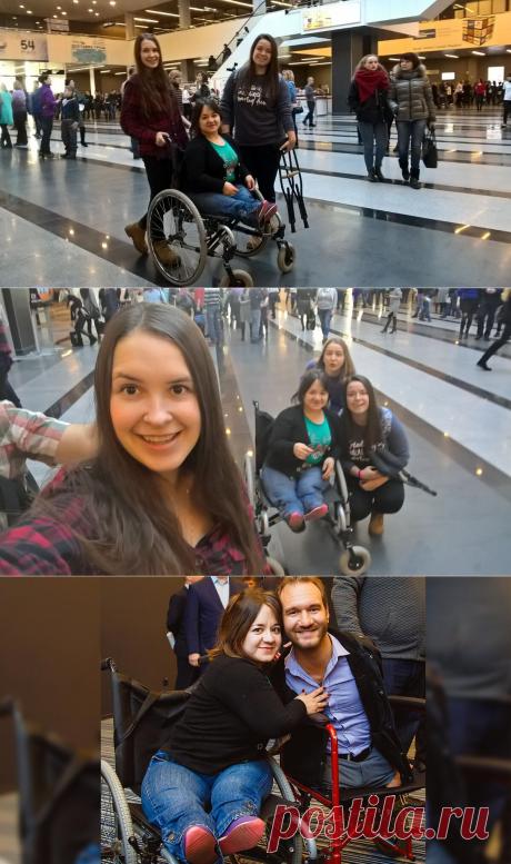 Инвалид-колясочник рассказывает, почему ей не нравится шоу знаменитого инвалида Ника Вуйчича.