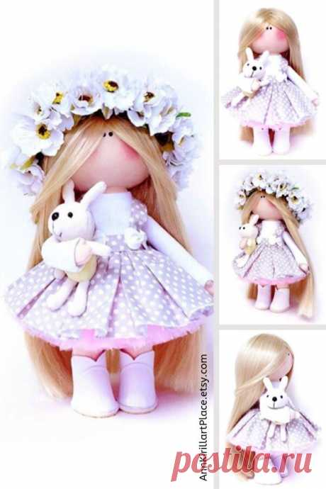 Interior Decor Doll Birthday Girl Gift Nursery Art Doll | Etsy