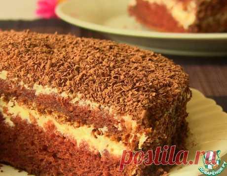 """Торт на кефире """"Черный принц"""" – кулинарный рецепт"""