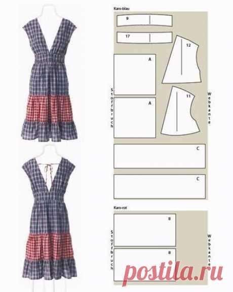 Простые выкройки платьев / Детская комната
