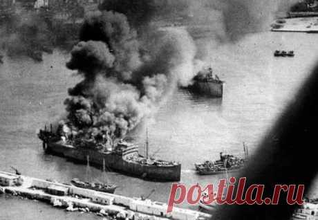 Как люфтваффе устроило американцам «европейский Перл-Харбор» в 1943 году