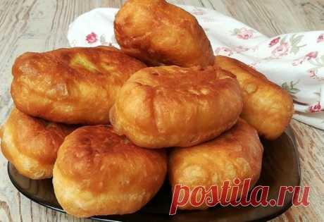 Воздушные жареные пирожки — Sloosh – кулинарные рецепты