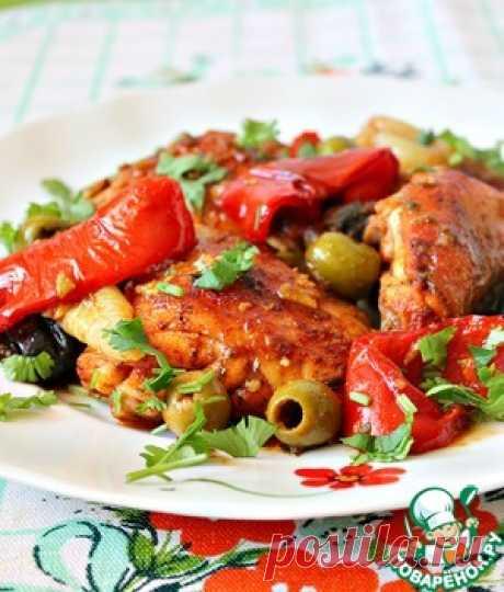 Курица в испанском стиле - кулинарный рецепт