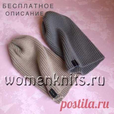 Тыковка шапка спицами