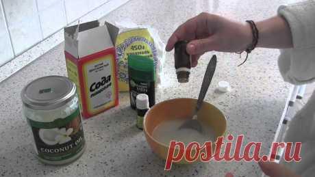 Смешав всего 3 ингредиента, ты навсегда забудешь о запахе пота! Великолепное средство.