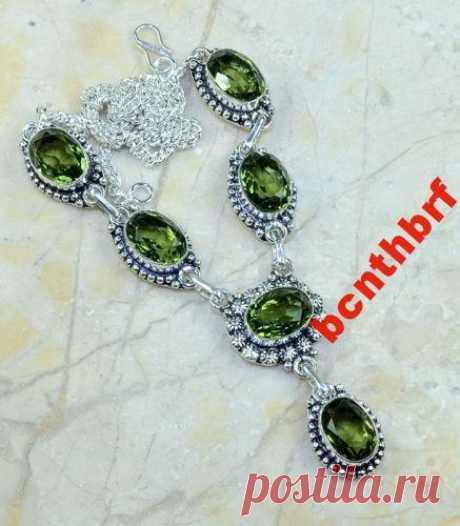 Ожерелье колье натуральный зел АМЕТИСТ серебро 925 (6270532476) - Aukro.ua – больше чем аукцион