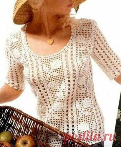 Укрощаем крючок. Красота филейного вязания. | Вяжу для души | Яндекс Дзен
