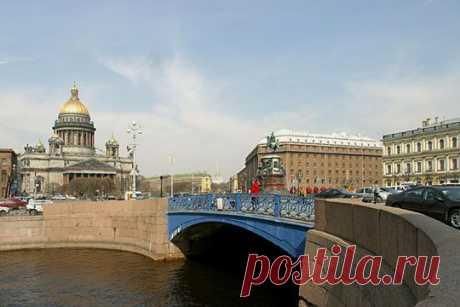 The Blue Bridge - St Petersburg Russia  |  Pinterest: инструмент для поиска и хранения интересных идей