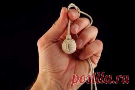 Плетение декоративного узла «Обезьяний Кулак» — DIYIdeas