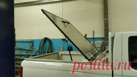 Крышка для пикапа алюминиевая нашего производства