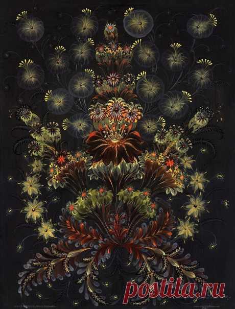 Вдохновляющая и невероятная роспись Елены Скицюк