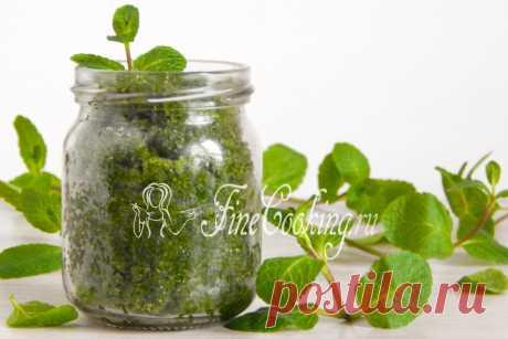 El azúcar de menta Hoy a nosotros la receta insólita del acopio para el invierno – invito a hacer el azúcar perfumado de menta.