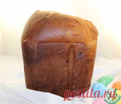 Кулич на сливках в хлебопечке Кулинарный рецепт