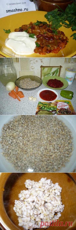 Човлент - пошаговый рецепт с фото