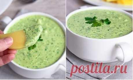 Как приготовить зеленый соус - рецепт, ингридиенты и фотографии
