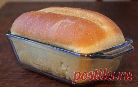 Рецепт домашнего белого хлеба в духовке. А какой аромат… О магазинном я забыла раз и навсегда! – В Курсе Жизни