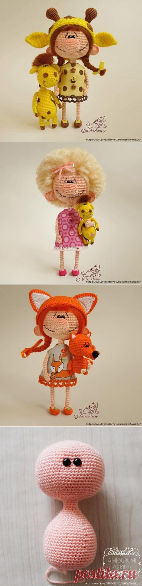 Куклы-большеносики от Екатерины Клепуковой + описание