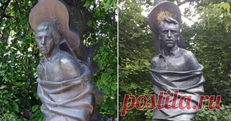 Новая редакция памятника Высоцкому передает образ, который хотела видеть его семья - сын | Культура и искусство
