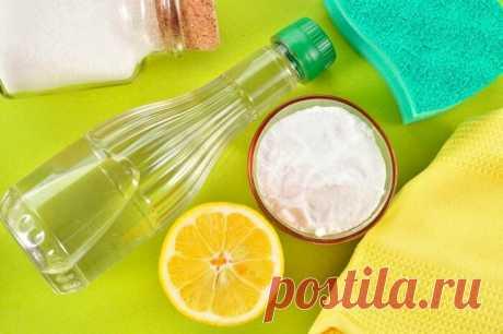 Бытовая уборка без лишней химии | Сад и Огород | Яндекс Дзен