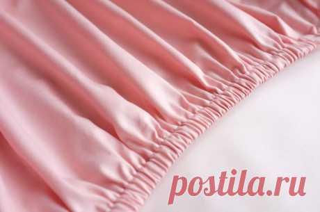 Шьем из натуральной ткани простыню на резинке – Ярмарка Мастеров