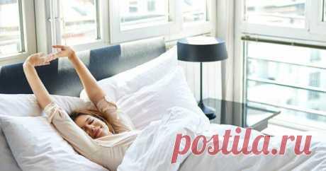 Как быстро проснуться и сохранить бодрость на весь день?