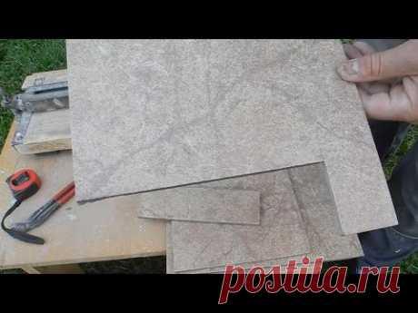Как отрезать плитку болгаркой без сколов