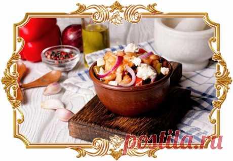 #Рагу с фасолью, курицей и фетой (рецепт без глютена)  Белая #фасоль хорошо подходит для приготовления рагу, дополняя яркие ароматы овощей своим мягким сливочным вкусом. Вкусное ароматное #блюдо по мотивам греческой кухни! Показать полностью...