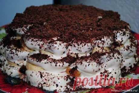 Вкусный и нежный торт без выпечки из пряников