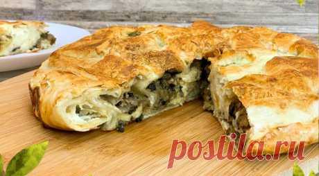 Пирог, пицца и штрудель из лаваша для тех, кто любит готовить быстро и без хлопот