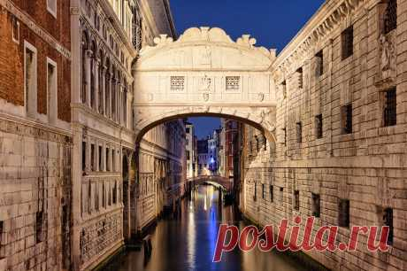 500px / Мост вздохов, Венеция, Лукаш Malkiewicz