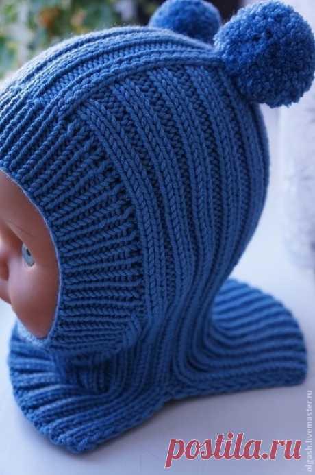 *Шапочка-шлем для сынульки - Вязание для детей - Страна Мам
