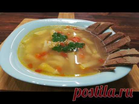Нежный, легкий суп с овсяными хлопьями! Приготовьте и он займет место среди любимых супов!