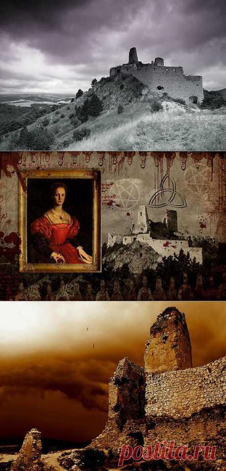 Из легенд о вампирах и старинных замках.