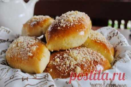 Духовые пирожки с вишней Венское тесто рецепт ⋆ Хозяюшка