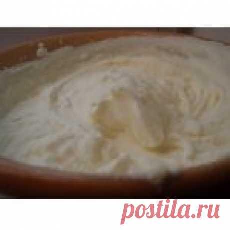 La nata 35 % de la grasura la Receta de cocina