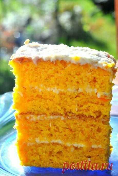 Нежнейший пирог из обычной ... моркови. Спойлер: по вкусу не догадаешься.