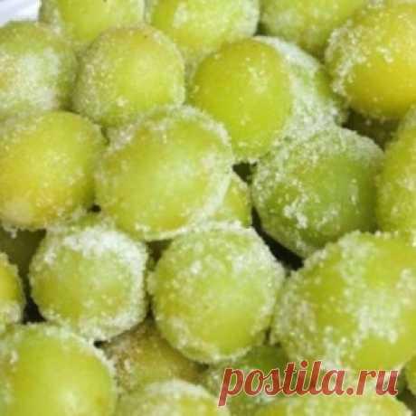 Замороженный «пьяный виноград»